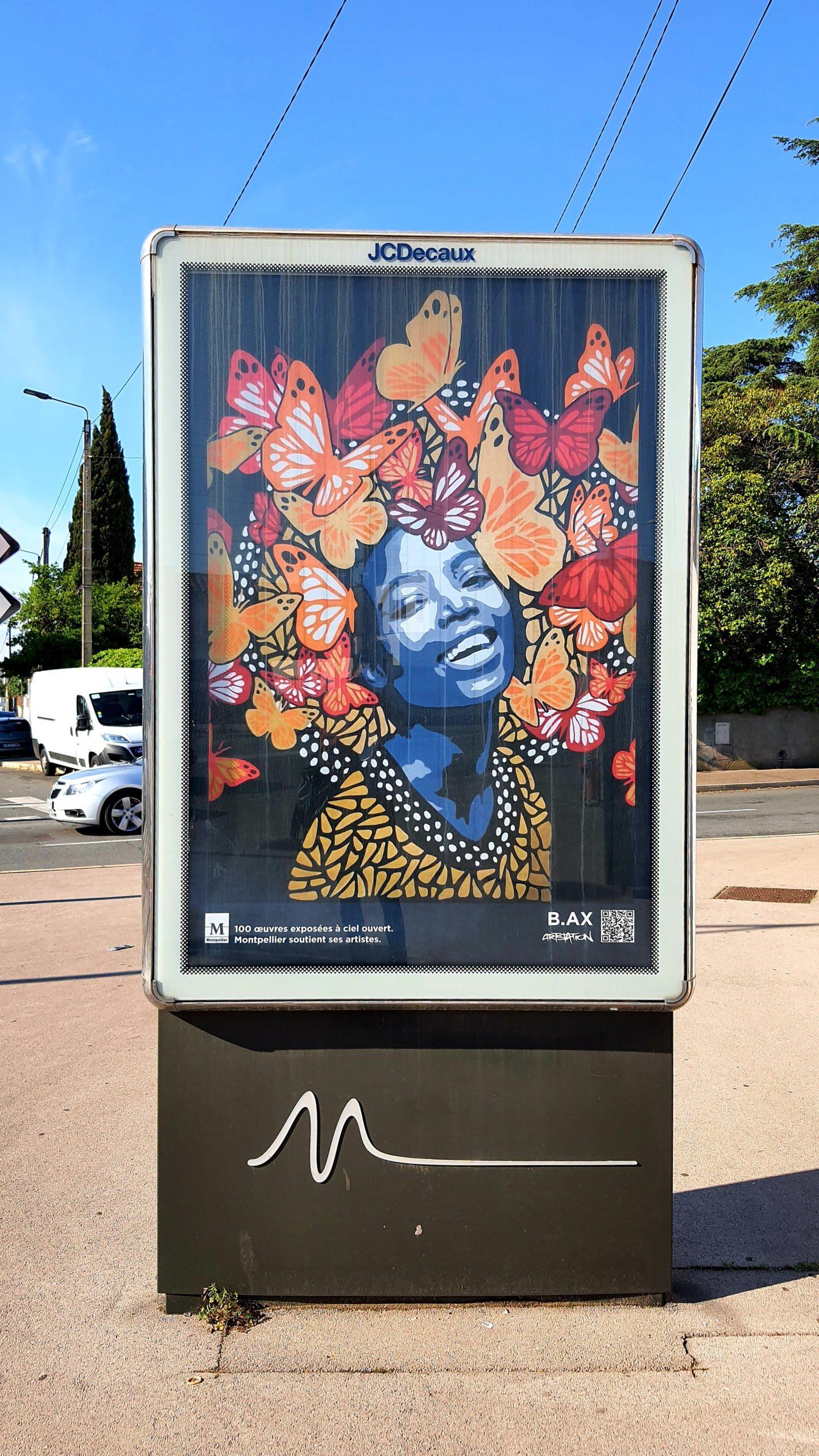 Street Art Montpellier panneau